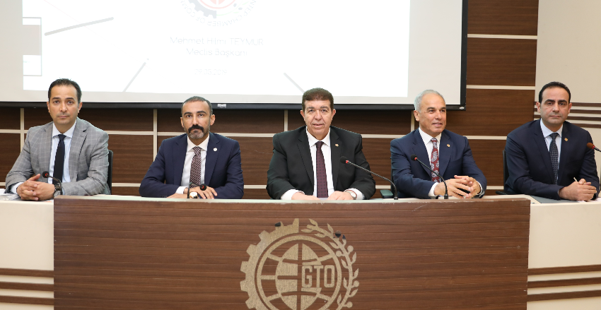 GAZIANTEP CHAMBER OF COMMERCE MAY ASSEMBLY MEETING WAS EXTENDED